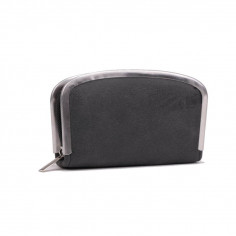 Set manicura Art. TDY 9696 PU cuero c/ flejes de metal y packaging
