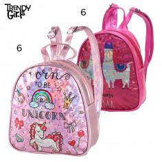 Mochila 9 Pulg. Art. TDY 8564 nylon 100% llama o unicornio