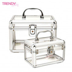Organizador accesorios Art. TDY 10560 acrílico 40% aluminio 30% mdf aleación y terciopelo 30%