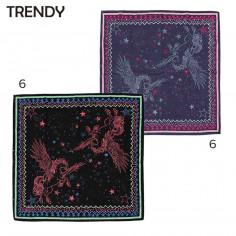 Pañuelo Art. TDY 10000 seda poliéster 100% estampa fantasía (90x90 cm.)