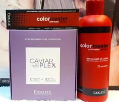 22 Tinturas Color Máster + 1 Revelador 990 Ml Color Master  + Kit Caviarplex Paso 1 y 2