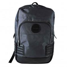 Mochila portanotebook 18 Pulg. Art. STN TBR-015 poliester 100% + PU cuero c/ bolsillos