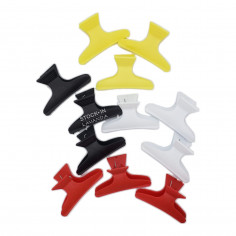 Separador Broche Plástico Grande X 12 . Unid. Blister Colores Art. 6800 - QUICO