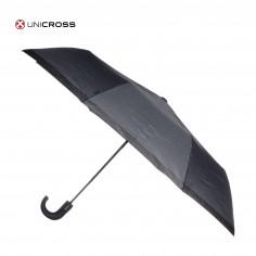 Paraguas corto automático Art. CRO 62.P5008 22 Pulg. 8 varillas siliconadas c/ mango curvo