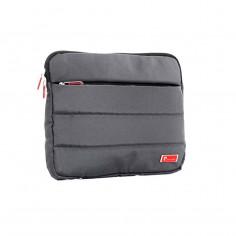 Funda portanotebook 14 Pulg. Art. PCA PC-3010.3 GRIS poliéster 100% c/ bolsillo c/ cierre