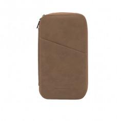 Porta pasaporte Art. TRA 19305.3 KKAKY ECO cuero c/ tarjeteros internos y externos