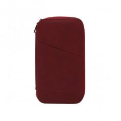 Porta pasaporte Art. TRA 19305.2 BORDO ECO cuero c/ tarjeteros internos y externos