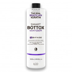 Botox Smart Matizador Violeta x500 Ml. - THE REAL BRAZILIAN KERATIN