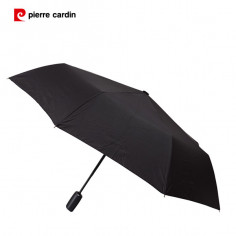 Paraguas corto automático Art. PCA 61.P5016 liso 21 Pulg. 8 varillas fibra de vidrio
