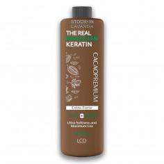 Alisado Chocolate 13% (Cacao+Karite) Extra Fuerte Max. Suavidad x1 Lts. - THE REAL BRAZILIAN KERATIN