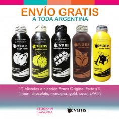 12 Alisados X1l Evans Original Forte A Elección