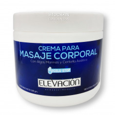 Crema Para Masajes C / Centella x500 Grs. - ELEVACION