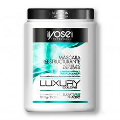 Mascara Reestructurante c/ Aceite de Lino y Keratina x1 Kg. - IYOSEI - LUXURY