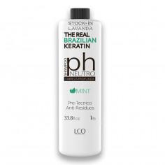 Shampoo Neutro Ment Ph 33.8 Pre - Tecnico Anti Residuos x1 L. - THE REAL BRAZILIAN KERATIN