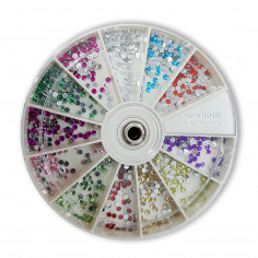 Carrousel Strass Color x 600 ( Colores Surtidos ) Art. U11 - JESSAMY