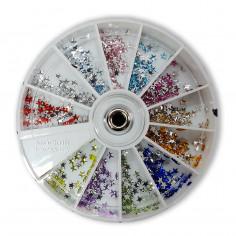Carrousel Strass Estrella x 600 ( Colores Surtidos ) Art. U13 - JESSAMY
