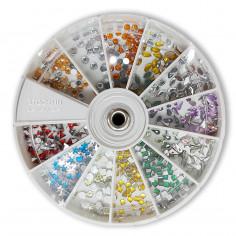 Carrousel Strass Gota x 600 ( Colores Surtidos ) Art. U14 - JESSAMY
