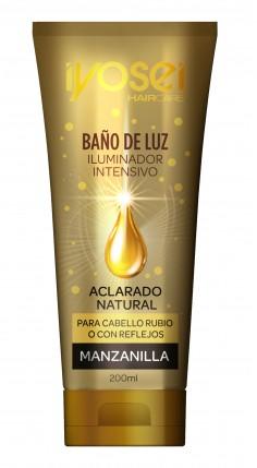 ( YHB193 ) Baño De Luz Con Manzanilla - Aclarado Natural x 200ml - IYOSEI - MASIVO