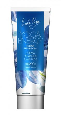 ( LP63 ) Crema de Flores - Yoga Energy X 200GR Perfumada - IYOSEI - MASIVO
