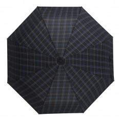 Paraguas mini automático Art. WEL 6200.1 NEGRO/AZUL nylon 100% varillas x8 (97 cm. diámetro)
