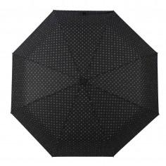 Paraguas mini manual Art. WEL 6206.2 NEGRO nylon 100% varillas x8 (93 cm. diámetro)