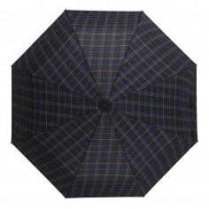 Paraguas mini manual Art. WEL 6206.1 NEGRO/AZUL nylon 100% varillas x8 (93 cm. diámetro)