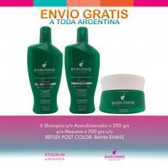 6 Shampoo Y/o Acondicionador Y/o Mascara X300grs - Bahia Evans