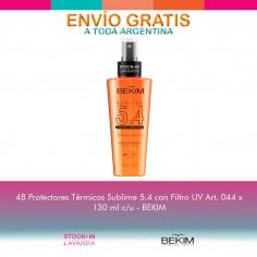 48 Protectores Térmicos Sublime Con Filtro Uv 130ml - Bekim