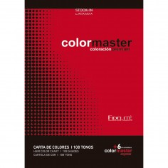 Carta De Colores Color Master  114 Tonos (108 tonos regulares + 6 Colores Express) - FIDELITE