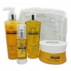 KIT Sun Beach Hair Filtro UV Libre de Sal ( Shampoo/Acond/Serum/Masc ) x800 Grs. - BAHIA EVANS