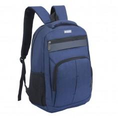 Mochila portanotebook 18 Pulg. Art. WEL 50665.3 AZUL nylon 100% c/ bolsillos y cierres