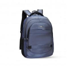 Mochila portanotebook 18 Pulg. Art. BOS 50666.2 AZUL nylon 100% c/ bolsillos y cierres