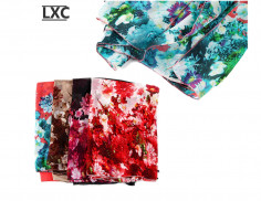 Poncho Art. LXC 10754 flores