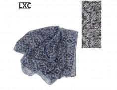 Pañuelo Art. LXC 420672 batik blanco y negro