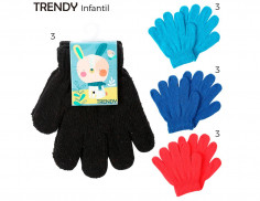 Guantes Art. TDY 8386 poliéster 90% spandex 10% (Pack x 12 Unidades)