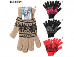 Guantes Art. TDY 8396 poliéster 90% spandex 10% (Pack x 12 Unidades)