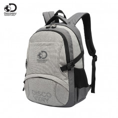Mochila Portanotebook 18 Pulg. Art. DIS 20210 nylon 100% c/ bolsillos y doble compartimento