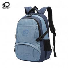 Mochila Portanotebook 18 Pulg. Art. DIS 20211 nylon 100% c/ bolsillos y doble compartimento
