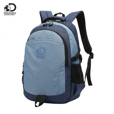Mochila Portanotebook 18 Pulg. Art. DIS 20213 nylon 100% c/ bolsillos y doble compartimento